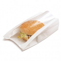 Sachet delicatessen blanc 16 cm